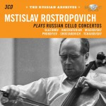Mstislav Rostropovich plays Russian Cello Concertos (Brilliant Classics)