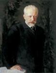 Pyotr Illyich Tchaikovsky (Portrait von Nikolai Kusnezow)