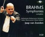 Jaap van Zweden: J. Brahms - Symphonies