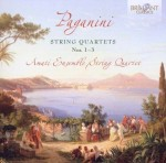 Amati Ensemble String Quartet: Niccolò Paganini - String Quartets