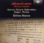 Delitiae Musicae: Adios mi amor