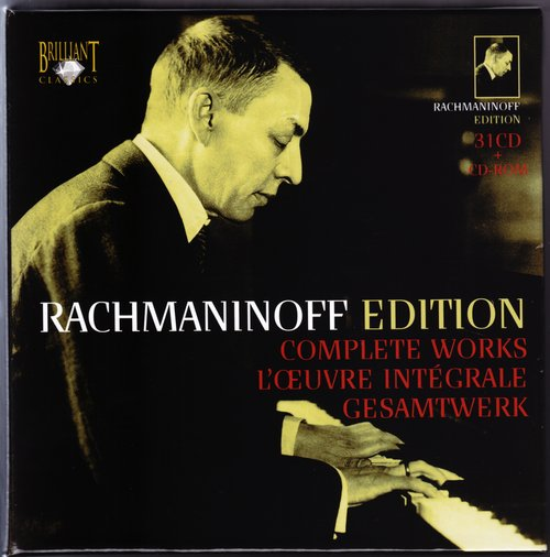 Rachmaninoff Edition - Brilliant Classics