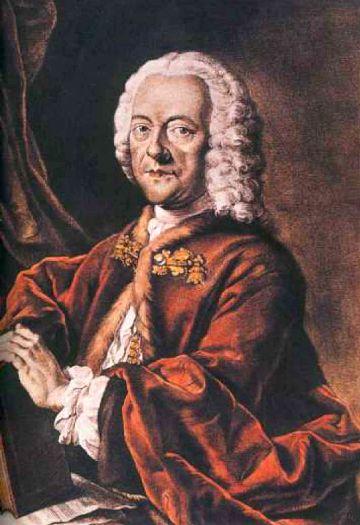 Georg Philipp Telemann - Portrait von Valentin Daniel Preisler [Public domain]