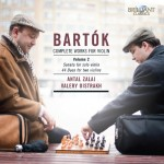 Antal Zalai: Béla Bartók - Complete Works for Violin, Vol.2