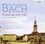 J. Redlin & J. Boysen: CPE. Bach - Oden und geistliche Lieder