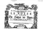 Titelseite von Le Nozze di Figaro