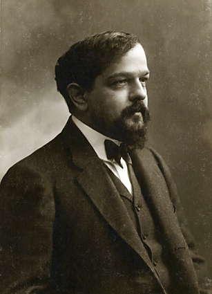 Claude Debussy - Quelle: Gaspard-Félix Tournachon [Public domain], via Wikimedia Commons