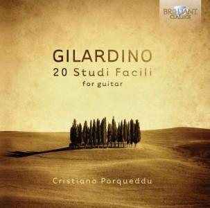 Cristiano Porqueddu: Angelo Gilardino - 20 studi facili
