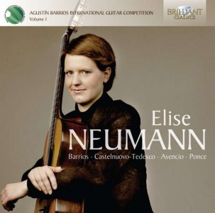 Elise Neumann: Agustín Barrios International Guitar Competition Vol. 1