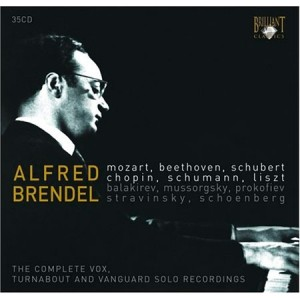 Alfred Brendel: The Complete Vox, Turnabout and Vanguard Solo Recordings