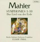 RSO Frankfurt, Eliahu Inbal: G. Mahler - Symphonies