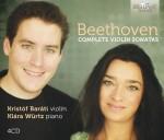Kristóf Baráti & Klára Würtz: Ludwig van Beethoven - Complete Violn Sonatas