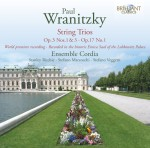 Ensemble Cordia: Paul Wranitzky - String Trios