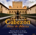 Harmonices Mundi · La Moranda · Quartetto Italiano di Viole da Gamba, Claudio Astronio: Antonio de Cabezón - Obras de Música - Complete Edition