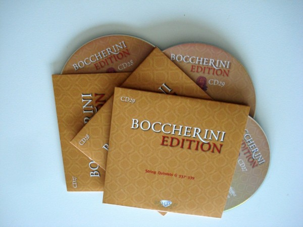 Boccherini Edition: CD 27 - 29