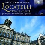 Igor Ruhadze & Ensemble Violini Capricciosi: Pietro Locatelli – Violin Sonatas (Locatelli Edition Vol. 2)