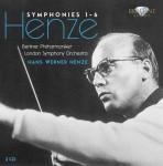 BPO, LSO, Hans Werner Henze - Symphonies 1 - 6