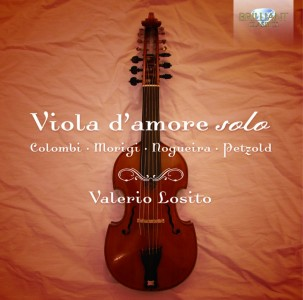 Valerio Losito: Various Composers – Viola d'amore solo