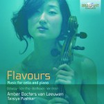 Amber Docters van Leeuwen & Taisiya Pushkar: Flavours – Music for Cello and Piano (Debussy · Schnittke · Beethoven · Van Breen)