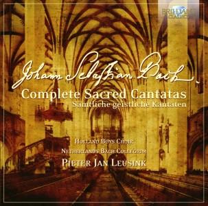 Holland Boys Choir · Netherlands Bach Collegium, Pieter Jan Leusink - Johann Sebastian Bach: Complete Sacred Cantatas | Sämtliche geistliche Kantaten