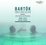 Antal Zalai & József Balog - Béla Bartók: Complete works for violin – Vol. 3