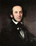 Felix Mendessohn Bartholdy (Portrait von Eduard Magnus)