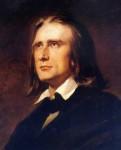 Franz Liszt, 1856 - Portrait von Wilhelm von Kaulbach
