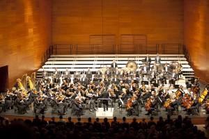 Ein typisches Sinfonieorchester: das Philharmonisches Orchester Rotterdam - Foto: Quincena Musical (Flickr: Rotterdams Philharmonisch Orkest) [CC-BY-2.0 (http://creativecommons.org/licenses/by/2.0)]