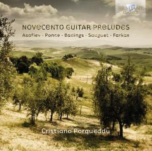 Cristiano Porqueddu: Novocento Guitar Preludes - Brilliant Classics 9292