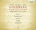 Various Artists - J. S. Bach: Goldberg Variations – played on harpsichord · piano · organ · string trio