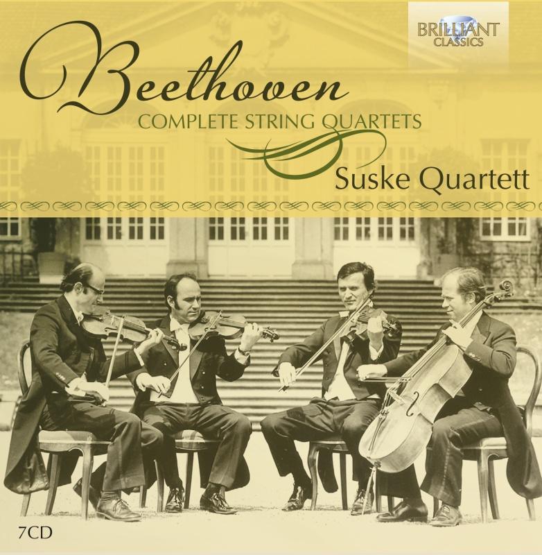 Suske Quartett - Ludwig van Beethoven: Complete String Quartets