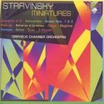 Stravinsky: Miniatures - Brilliant Classics 9089