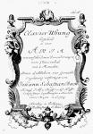 Johann Sebastian Bach: Goldberg-Variationen - Titelseite