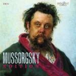 Various: Mussorgsky Edition – Nahezu vollständige Gesamtausgabe der Werke des russischen Visionärs Modest Mussorgsky