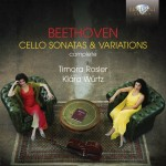 »Beethoven: Complete Sonatas and Variations for Cello & Piano« von Timora Rosler & Klára Würtz bei WDR 3 besprochen