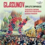 Tchaikovsky SO of Moscow Radio, Vladimir Fedoseyev - Alexander Glazunov: Complete Symphonies