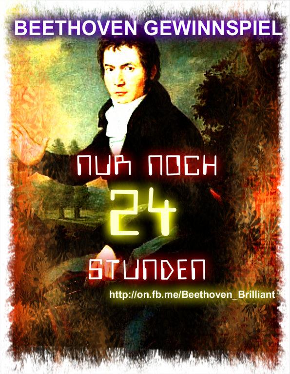 Beethoven Gewinnspiel - Nur noch 24 Stunden