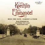 Markus Brönnimann – Charles Koechlin · Maurice Emmanuel: Chamber Music with Flute