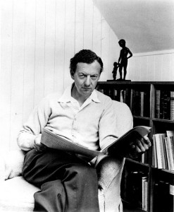 Publicity photograph of British composer Benjamin Britten, 1968 (PD)