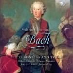 Wilbert Hazelet, Marion Moonen, Jacques Ogg, Jaap ter Linden – Wilhelm Friedemann Bach: Flute Sonatas and Trios