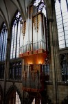 Orgel (Schwalbennestorgel) im Kölner Dom - Foto: By Chrstoph Rückert.Dstern at de.wikipedia [CC-BY-SA-3.0-de (http://bit.ly/CCBYSA)]