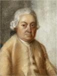 Carl Philipp Emanuel Bach, gemalt von Johann Philipp Bach [Public domain]