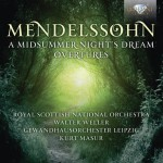 Walter Weller / Kurt Masur – Felix Mendelssohn Bartholdy: A Midsummer Night's Dream, Overtures