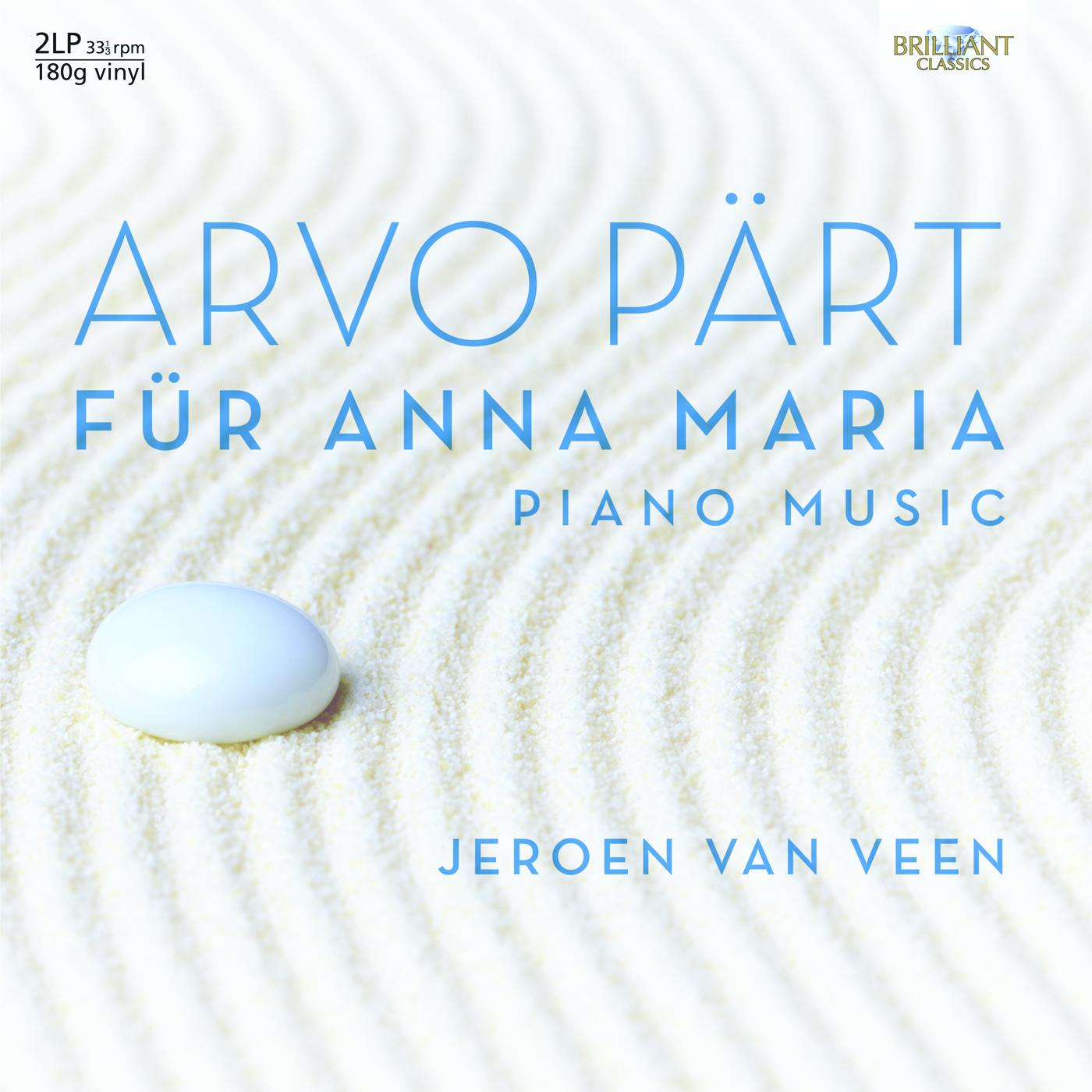 Jeroen van Veen – Arvo Pärt: Complete Piano Music (Vinyl)