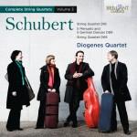 Diogenes Quartet – Franz Schubert: Complete String Quartets Vol. 3