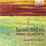 Quartetto Avos – Camille Saint-Saëns: Piano Quartets