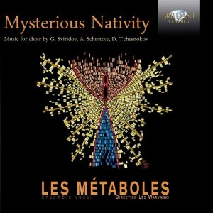 Les Métaboles, Léo Warynski – Mysterious Nativity: Music for choir by G. Sviridov, A. Schnittke, D. Tchesnokov