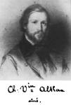 Charles-Valentin Alkan – Pastellportrait Alkans von Edouard Dubufe (1820–1883) [Public Domain]