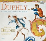Pieter-Jan Belder – Jacques Duphly: Complete Keyboard Music