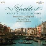 Francesco Galligioni · L'Arte dell'Arco, Federico Guglielmo – Antonio Vivaldi: Complete Cello Concertos